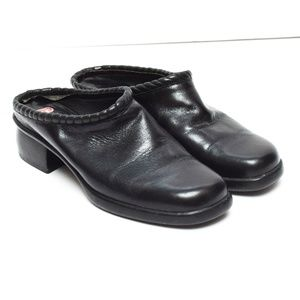 Cole Haan Mules Clogs Womens 7.5 M Black Leather